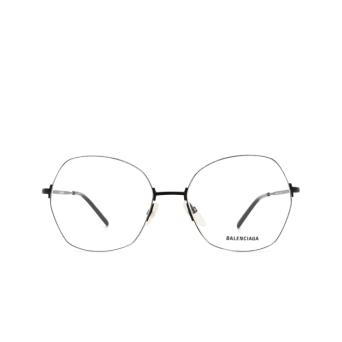 Balenciaga® Irregular Eyeglasses: BB0014O color Black 001.
