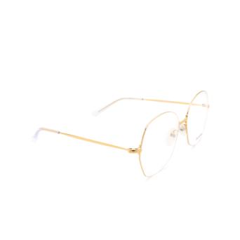 Balenciaga® Irregular Eyeglasses: BB0014O color Gold 003.