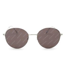 Balenciaga® Sunglasses: BB0016SK color Silver 004.