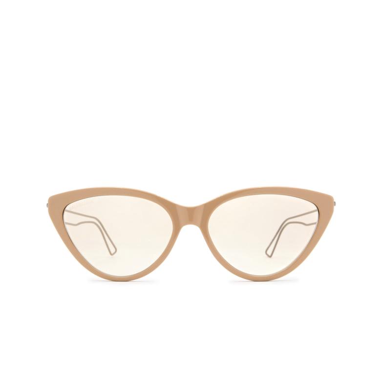 Balenciaga® Cat-eye Sunglasses: BB0052S color Brown 002.