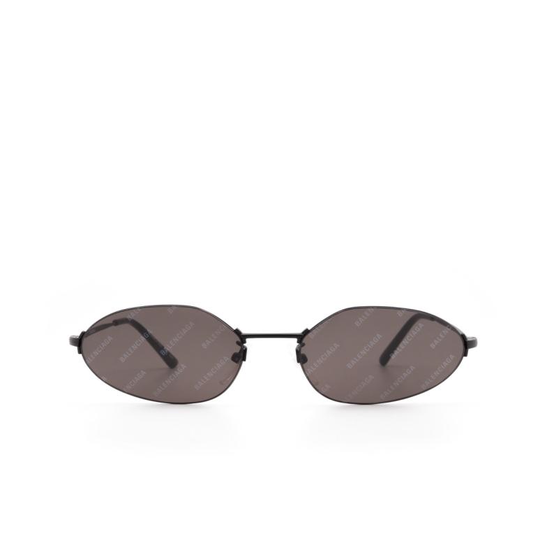 Balenciaga® Oval Sunglasses: BB0055S color Black 001.