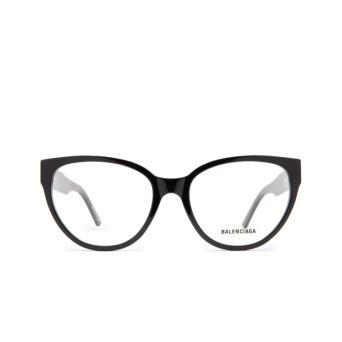 Balenciaga® Butterfly Eyeglasses: BB0064O color Black 001.