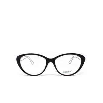 Balenciaga® Butterfly Eyeglasses: BB0067O color Black 001.