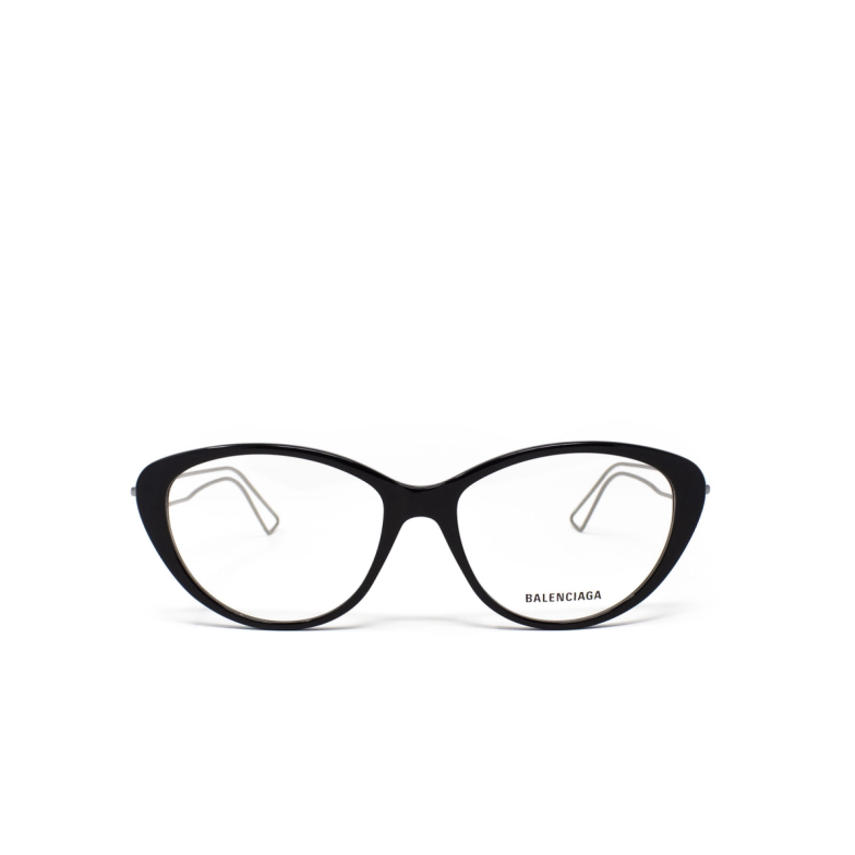 Balenciaga® Butterfly Eyeglasses: BB0067O color Black 001.