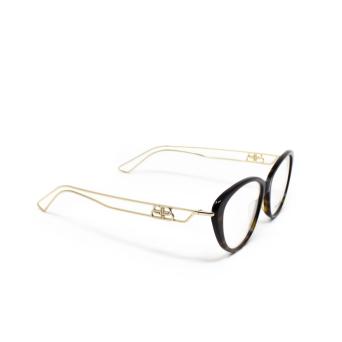 Balenciaga® Butterfly Eyeglasses: BB0067O color Havana 002.