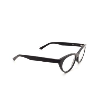 Balenciaga® Cat-eye Eyeglasses: BB0079O color Black 001.