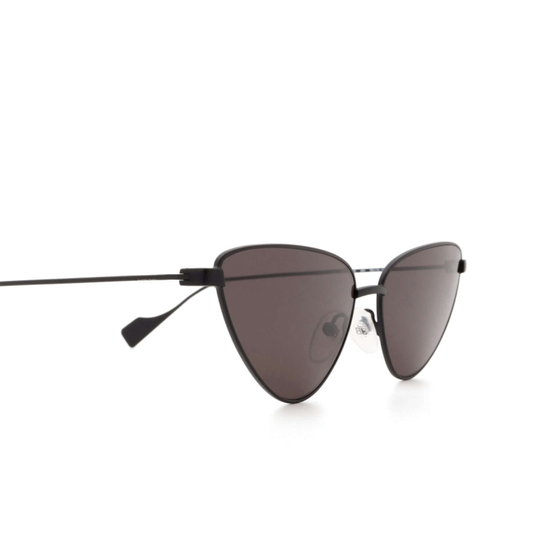 Balenciaga® Cat-eye Sunglasses: BB0086S color Black 001.