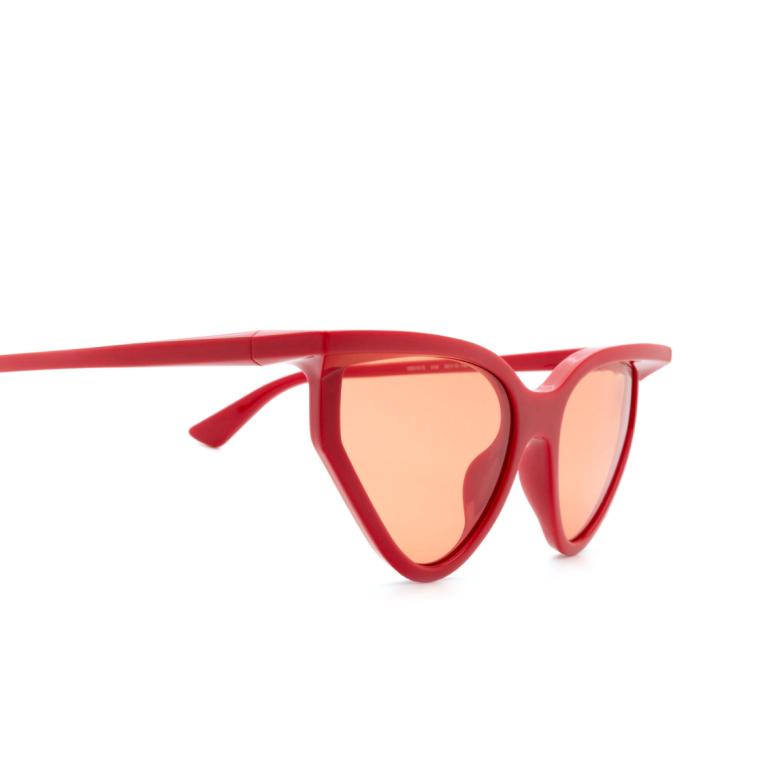 Balenciaga® Square Sunglasses: BB0101S color Red 006.
