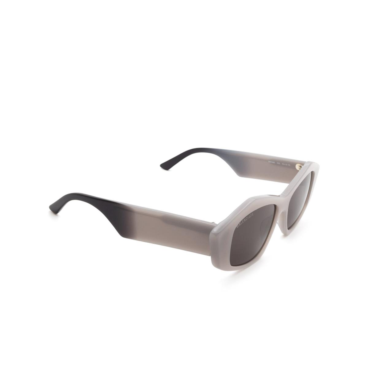 Balenciaga® Irregular Sunglasses: BB0106S color Grey 003.