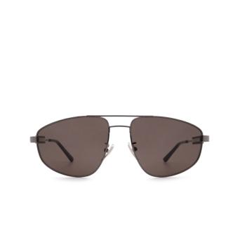 Balenciaga® Aviator Sunglasses: BB0115S color Grey 001.