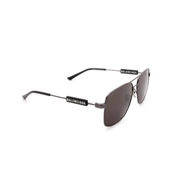 Balenciaga® Square Sunglasses: BB0116SA color Grey 001.