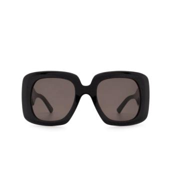 Balenciaga® Square Sunglasses: BB0119S color Black 001.
