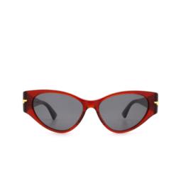 Bottega Veneta® Sunglasses: BV1002S color Burgundy 003.