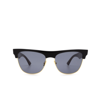 Bottega Veneta® Square Sunglasses: BV1003S color Black 001.