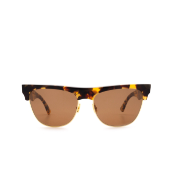 Bottega Veneta® Square Sunglasses: BV1003S color Havana 002.