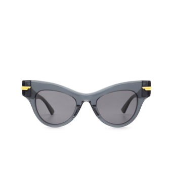 Bottega Veneta® Cat-eye Sunglasses: BV1004S color Grey 001.