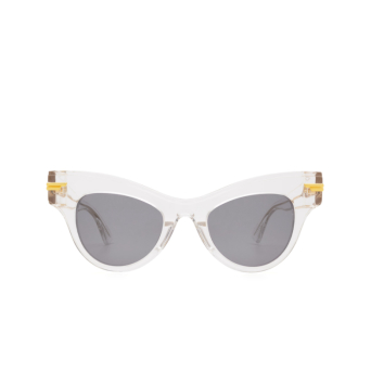 Bottega Veneta® Cat-eye Sunglasses: BV1004S color Crystal 002.