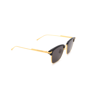 Bottega Veneta® Square Sunglasses: BV1007SK color Black 001.