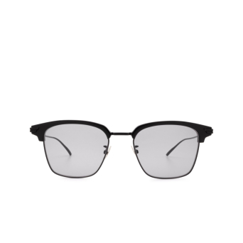 Bottega Veneta® Square Sunglasses: BV1007SK color Black 002.