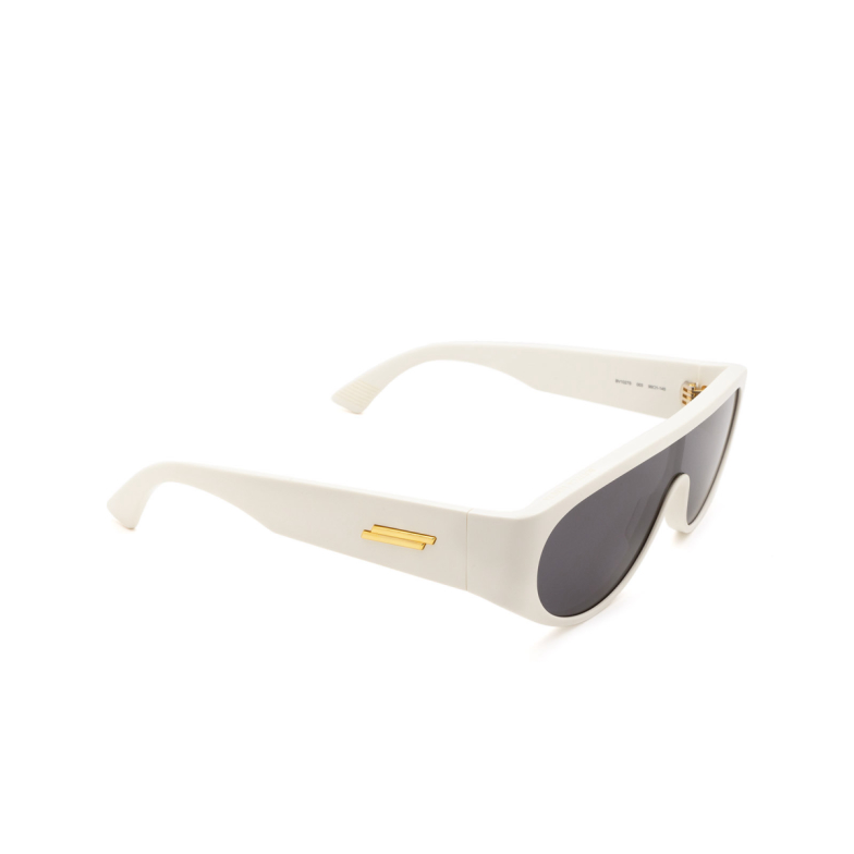Bottega Veneta® Mask Sunglasses: BV1027S color Ivory 003.