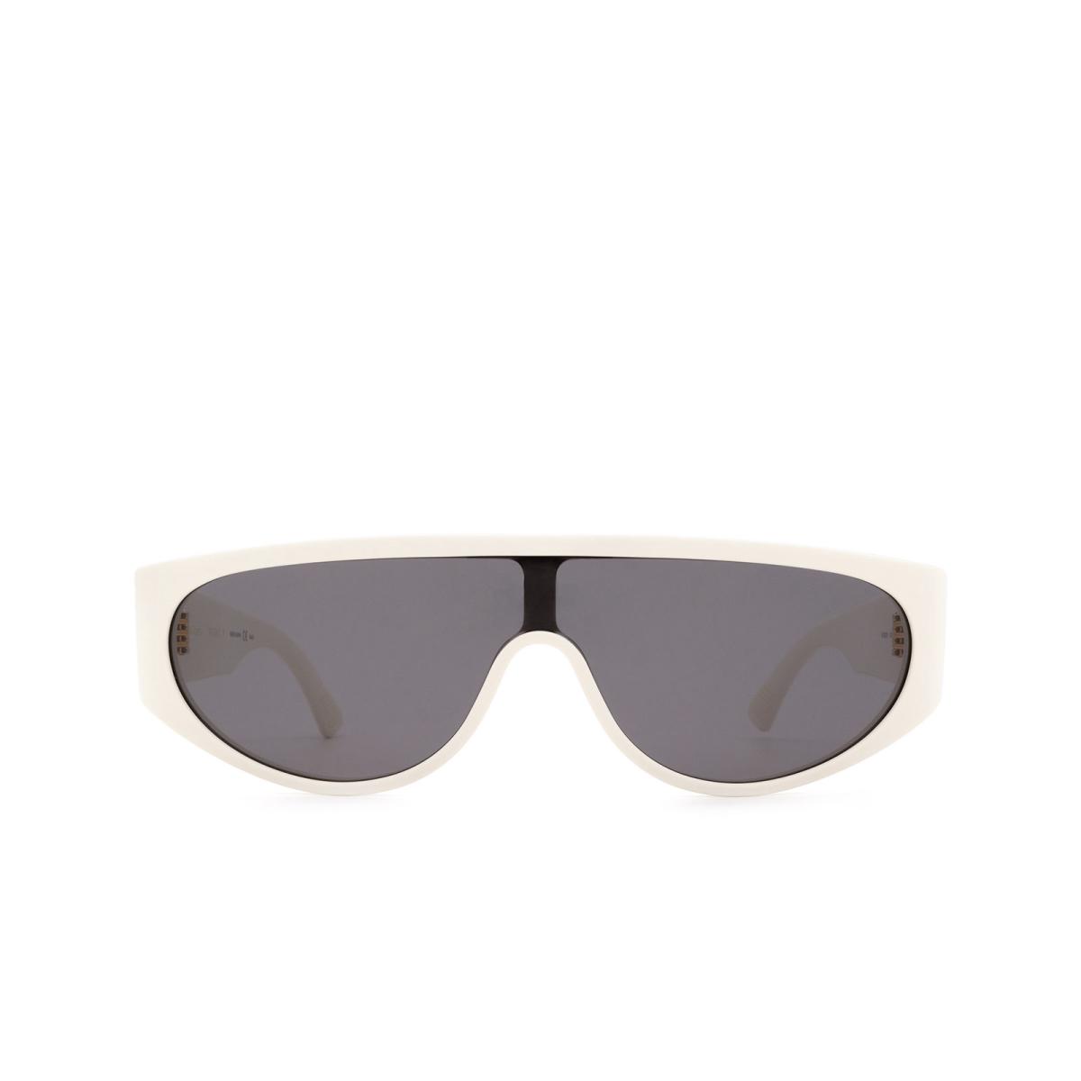 Bottega Veneta® Mask Sunglasses: BV1027S color Ivory 003.