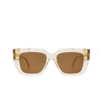 Bottega Veneta® Square Sunglasses: BV1030S color Beige 004.