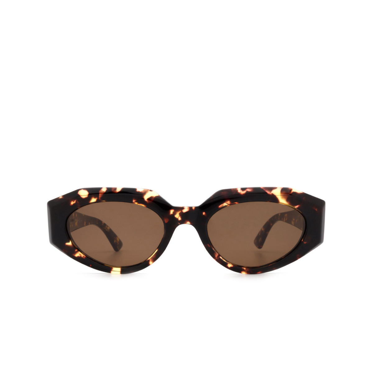 Bottega Veneta® Cat-eye Sunglasses: BV1031S color Havana 002.