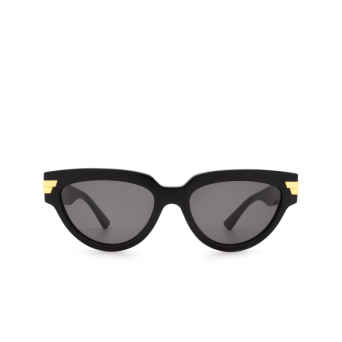 Bottega Veneta® Cat-eye Sunglasses: BV1035S color Black 001.