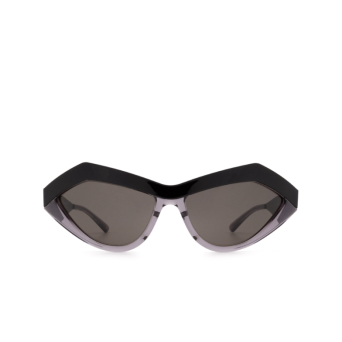 Bottega Veneta® Cat-eye Sunglasses: BV1055S color Black 001.