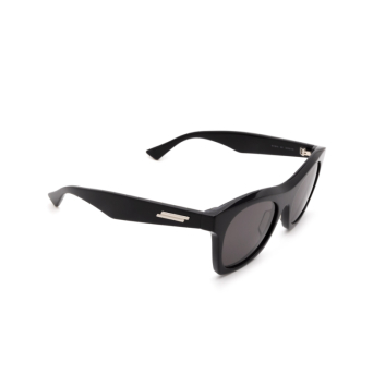 Bottega Veneta® Square Sunglasses: BV1061S color Black 001.