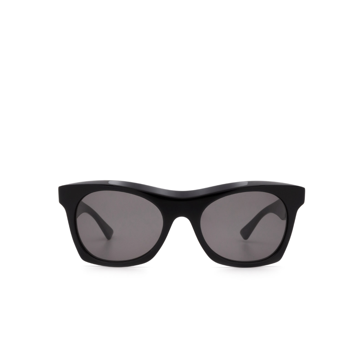 Bottega Veneta® Square Sunglasses: BV1061S color Black 001.