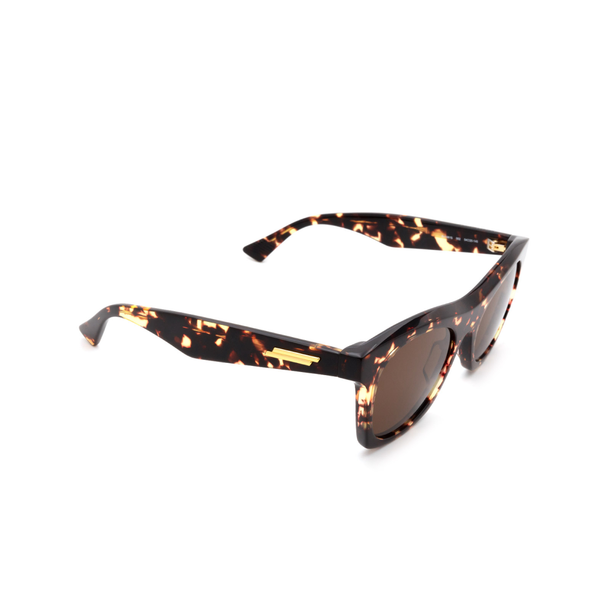 Bottega Veneta® Square Sunglasses: BV1061S color Havana 002.
