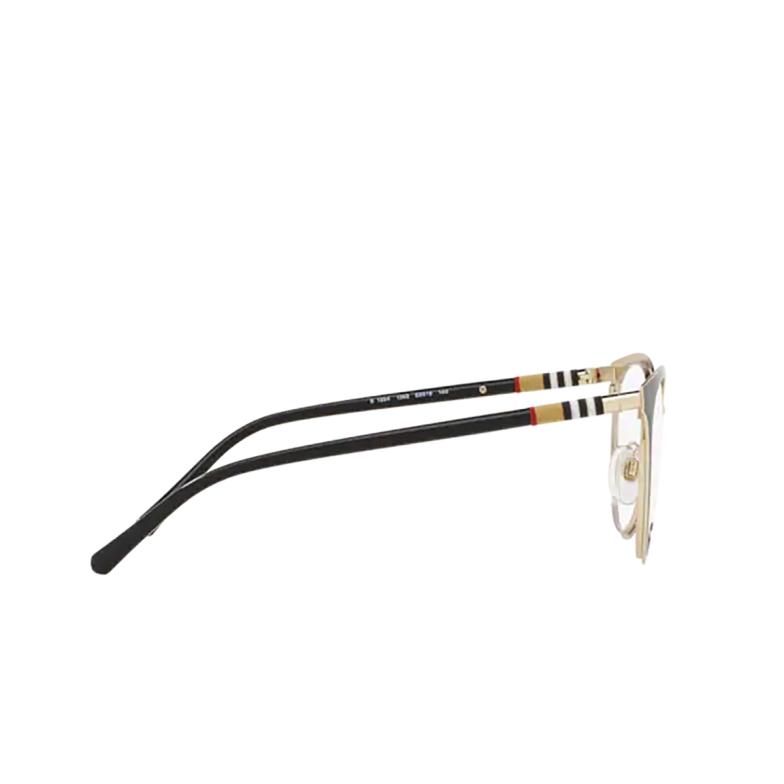 Burberry® Cat-eye Eyeglasses: BE1324 color Black / Light Gold 1262.