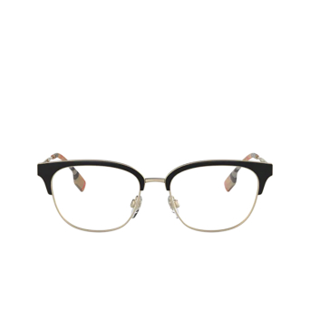 Burberry® Square Eyeglasses: BE1334 color Pale Gold / Black 1109.