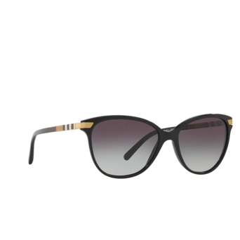 Burberry® Cat-eye Sunglasses: BE4216 color Black 30018G.