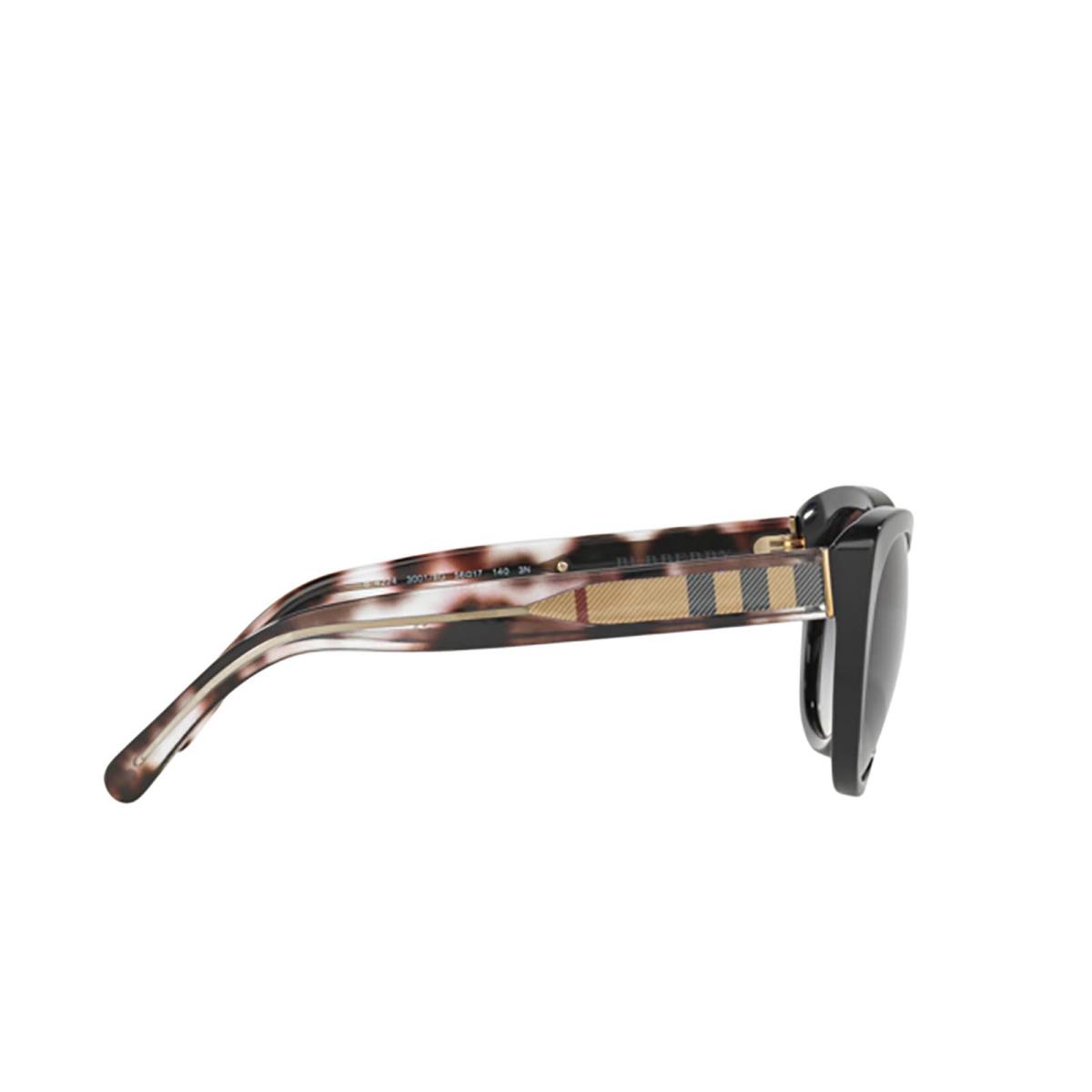 Burberry® Cat-eye Sunglasses: BE4224 color Black 30018G - 3/3.