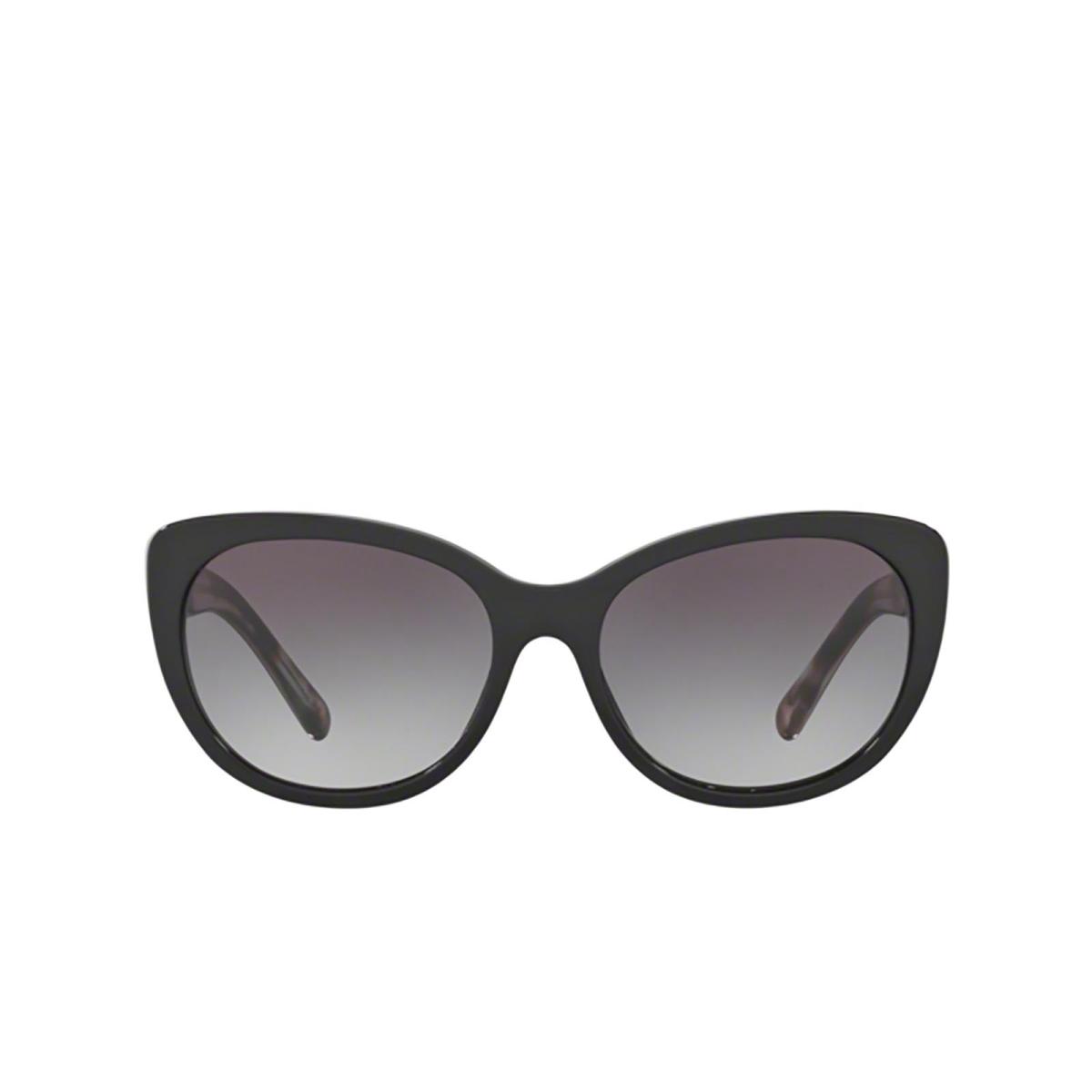 Burberry® Cat-eye Sunglasses: BE4224 color Black 30018G.