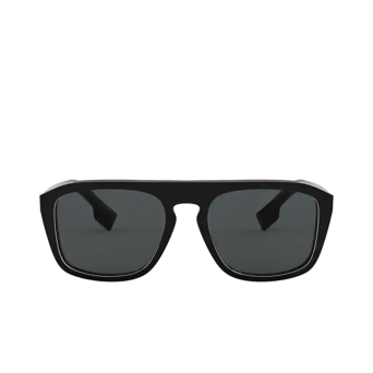 Burberry® Square Sunglasses: BE4286 color Check Multilayer Black 379881.