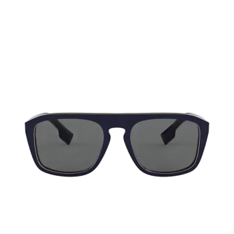 Burberry® Square Sunglasses: BE4286 color Check Multilayer Blue 379987.