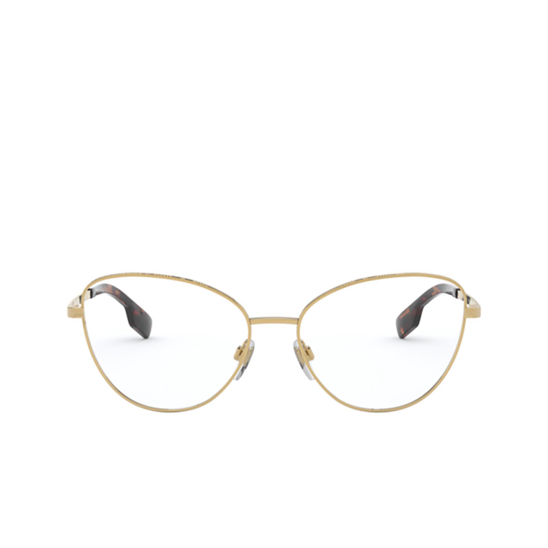 Burberry® Butterfly Eyeglasses: Calcot BE1341 color Gold 1017.