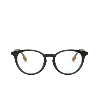 Burberry® Round Eyeglasses: Chalcot BE2318 color Black 3853.