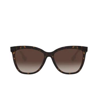 Burberry® Square Sunglasses: Clare BE4308 color Dark Havana 385413.
