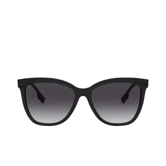 Burberry® Square Sunglasses: Clare BE4308 color Black 38588G.