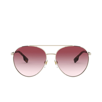 Burberry® Aviator Sunglasses: Gloucester BE3115 color Pale Gold 11098D.