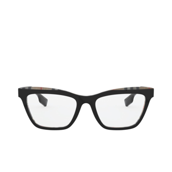 Burberry® Square Eyeglasses: Ryde BE2309 color Top Black On Vintage Check 3828.