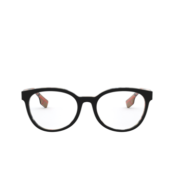 Burberry® Round Eyeglasses: Sloane BE2315 color Top Black On Vintage Check 3838.