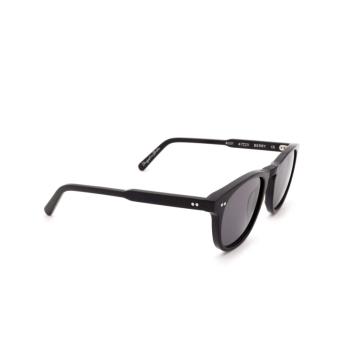 Chimi® Square Sunglasses: #001 color Black Berry.