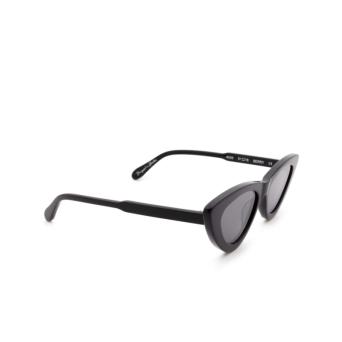 Chimi® Cat-eye Sunglasses: #006 color Black Berry.