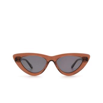 Chimi® Cat-eye Sunglasses: #006 color Brown Coco.