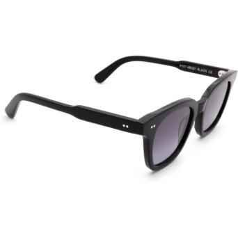 Chimi® Square Sunglasses: #101 color Black.